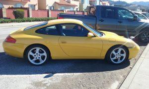 Speed Yellow 996! 1999 Porsche 911 Carrera